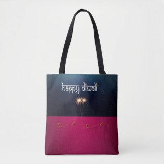 Sparkling Happy Diwali - Tote Bag