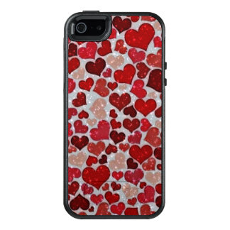 Sparkling Hearts, OtterBox iPhone 5/5s/SE Case