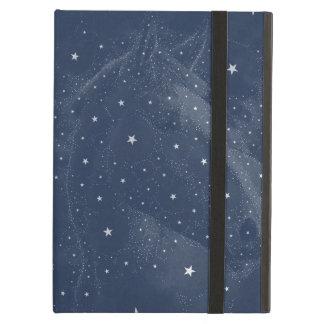 Sparkling Horse Constellation Stars Midnight Blue Case For iPad Air
