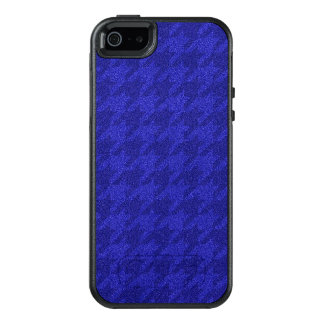 sparkling houndstooth,inky blue (I) OtterBox iPhone 5/5s/SE Case