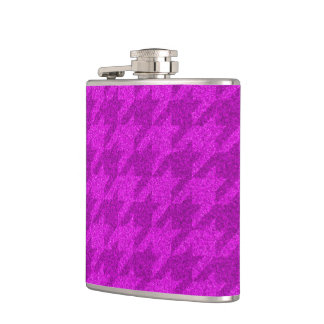 sparkling houndstooth pink (I) Flasks
