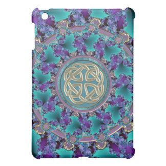 Sparkling Jeweled Celtic Fractal iPad Mini Covers