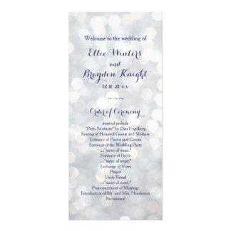 Sparkling Lights Wedding Program
