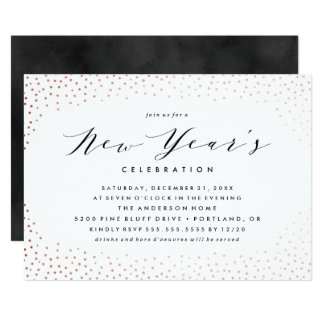 Sparkling New Year | Holiday Party Invitation