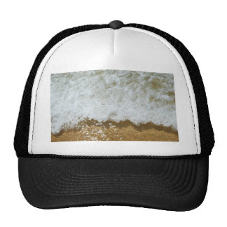 Sparkling ocean scene background trucker hat