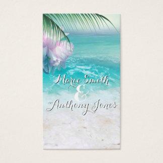 SPARKLING OCEAN WATERS Website Wedding Card