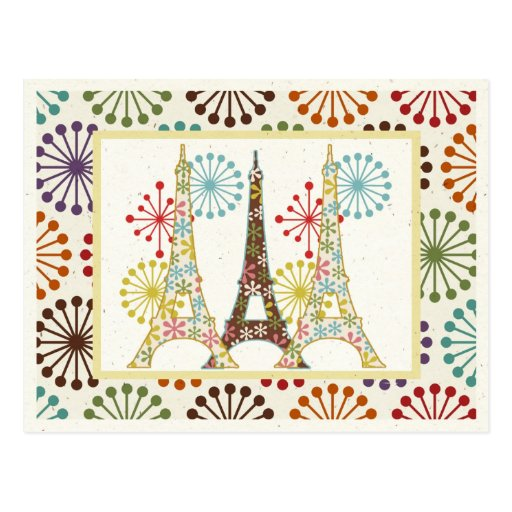 Sparkling Paris Postcard