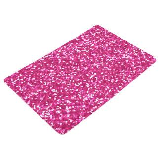 Sparkling Pink Glitter Floor Mat