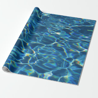 Sparkling Pool Water Wrapping Paper