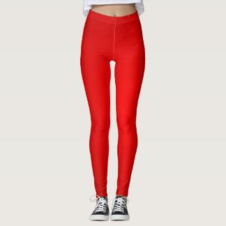 Sparkling Red Leggings