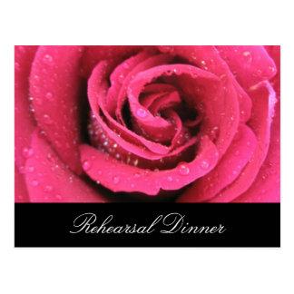 Sparkling Rose Postcard