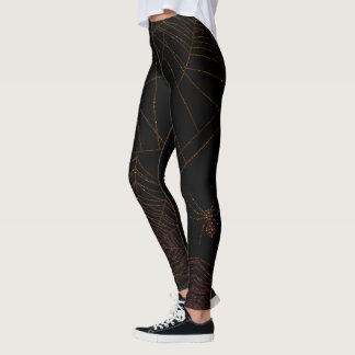 Sparkling Spiderweb Leggings