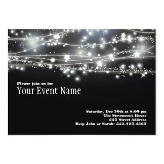 Sparkling Stars Invitation