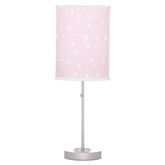 Sparkling Stars Lamp in Pink