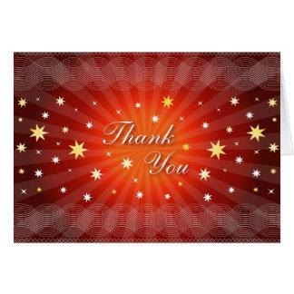 Sparkling Thank You Card