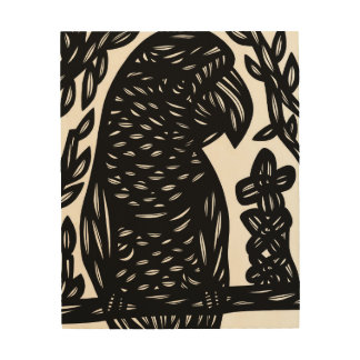 Sparkling Transforming Masterful Active Wood Print