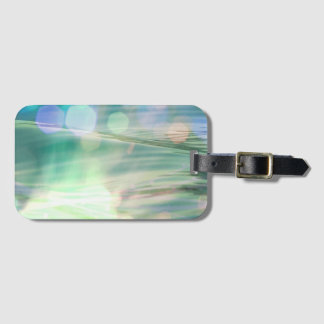 Sparkling Water and Sunlight Luggage Tag