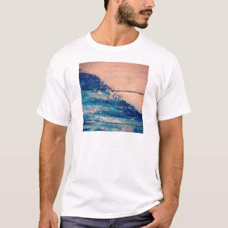 Sparkling Waves design T-Shirt