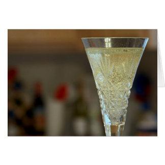 Sparkling White Wine Card