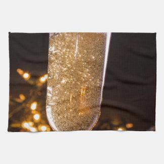 Sparkling Wine Kitchen Towel