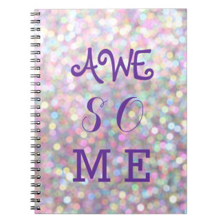 Sparkly AWESOME Notebook