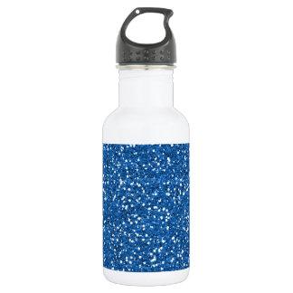 Sparkly Blue Glitter 532 Ml Water Bottle