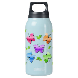 Sparkly Butterflies Insulated Water Bottle