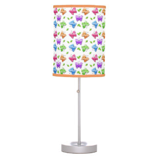 Sparkly Butterflies Table Lamp