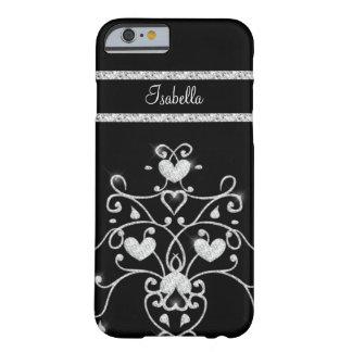 Sparkly Diamond Tiara Hearts iPhone 6 case