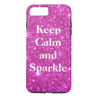 Sparkly Glittery Glitter Pink Glam CricketDiane iPhone 7 Plus Case
