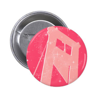 sparkly guillotine 2 inch round button