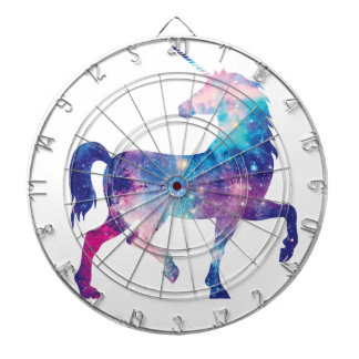 Sparkly Magical Unicorn Dartboard