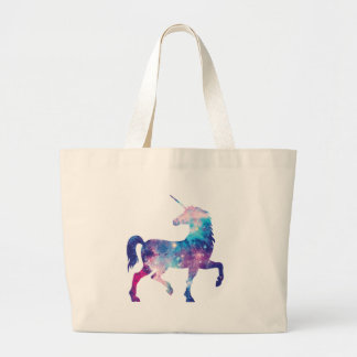 Sparkly Magical Unicorn Large Tote Bag