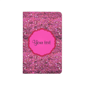 Sparkly Pink Glitter Journal