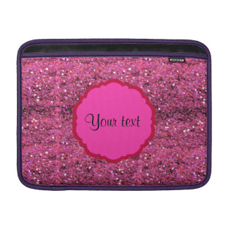 Sparkly Pink Glitter MacBook Air Sleeve