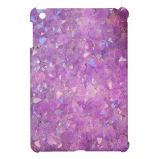 Sparkly Pinky Purple Aura Crystals iPad Mini Case