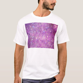 Sparkly Pinky Purple Aura Crystals T-Shirt