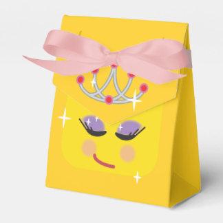 Sparkly Princess Emoji Favor Box