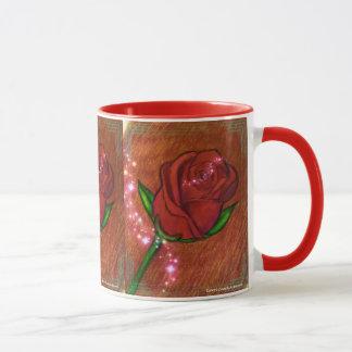 Sparkly Rose Coffee mug