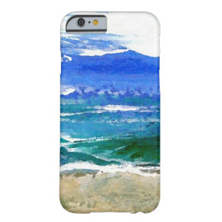 Sparkly Sea Ocean Beach Surf Gifts Sea Waves Barely There iPhone 6 Case