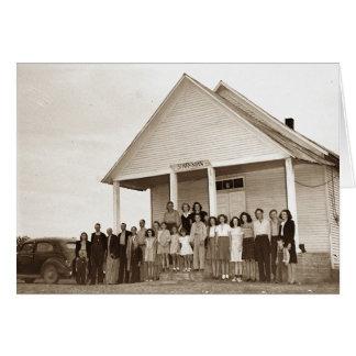 Sparkman School, Warren County Tennessee Card