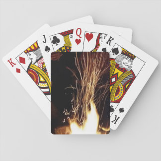 Sparks Aflame Playing Cards