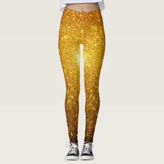 Sparks of Gold Leggings