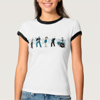 Sparkshooter - The Band - Ladies Ringer T-Shirt