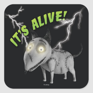 Sparky: It's Alive Square Sticker