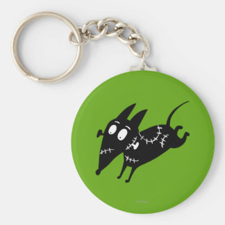 Sparky Running Silhouette Keychain