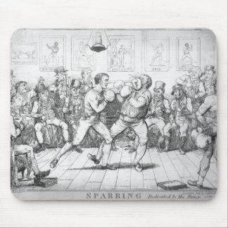 Sparring, 1817 mouse pad