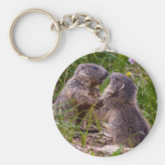 Sparring Partners Keyring Basic Round Button Keychain