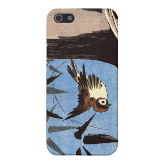 Sparrow and Bamboo, Ando Hiroshige Case For The iPhone 5