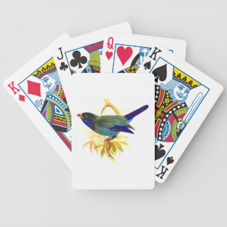 Sparrow Bicycle Playing Cards